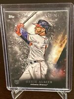 2018 Topps Inception Ozzie Albies Rookie Card #73 Atlanta Braves RC Thick Stock