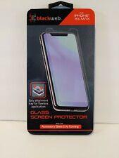 Blackweb Iphone XS Max Glass Screen Protector New