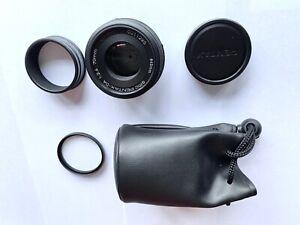Pentax SMC DA 70mm f2.4 Limited, Mint condition, plus Hoya pro1 Digital filter