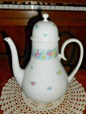 Rosenthal Germany Garland Multicolor Romance Coffee Pot and Lid