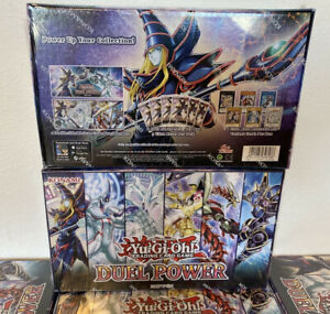 Yu-Gi-Oh! Duel Power Box Edizione Speciale Nuovo Factory Sealed INGLESE DUPO