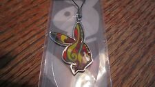 Cellphone playboy strap/charm,bunny, NIP 2007 multi colored