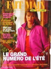 Fait Main n°6 - 1994 - Tricot - Borderie - Ensemble Eté - Présence patron
