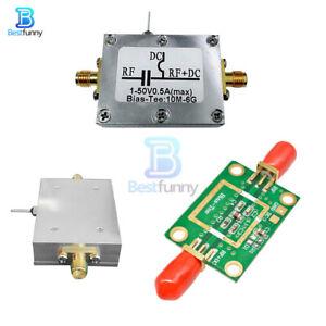 RF Biaser Bias Tee Amplifier +Case 10MHz-6GHz LNA Low Noise HAM Radio F RTL SDR