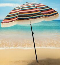 100% UV Protection Cute Designer Beach Umbrella by beachBRELLA® Las Brisas!