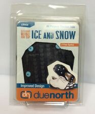 DueNorth Ice and Snow Spikes All Purpose Traction Aids Plus 2 Free Spikes Large