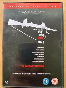 The Big Red One DVD 1980 World War II WW2 Movie Classic 2-Disc Reconstruction