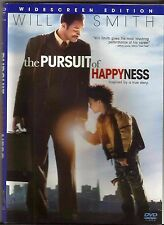 The Pursuit of Happyness (DVD, 2007, Widescreen) Free Shipping