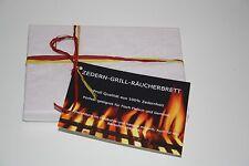 Zedern Holz Grill Räucherbrett im Doppelpack
