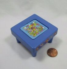 New! Fisher Price Loving Family Dollhouse PLAY ROOM TABLE Tea & Games Flips!