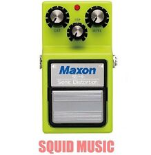 Maxon SD-9 Sonic Distortion Overdrive Guitar Effects Pedal Vintage Reissue SD9