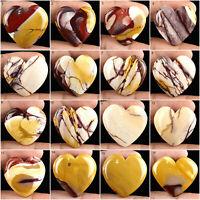 Top Natural Mookite Jasper Most Beautiful Untreated Huge Heart Shape Gems