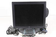 "ELO 17"" Touchscreen Monitor ET1729L-7UWA-1-GY-G w/Card Reader"