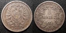 Allemagne - Wilhelm I - 1 mark 1876A - KM#7