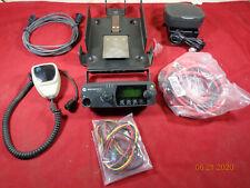 Motorola Pm1500 Vhf Uhf 110 Watt Mobile Radio Accessory Package Actual Photos