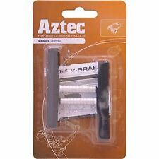 Aztec V-type Grippers Brake Blocks Pads Charcoal