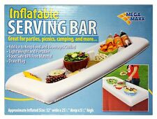 Pair of Inflatable Portable Serving Bar 25 x 52 New Party Picnic Camping Add Ice