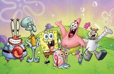 Spongebob Schwammkopf Eßbar Tortenaufleger NEU Party Deko Geburtstag dvd Serie