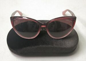 Tom Ford Sunglasses Martina TF231 TF 231 83Z Burgundy Fade Grey Violet 24562