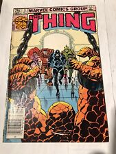 The Thing # 3, canadian Price Newsstand Edition