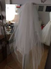 Unbranded Regular Size Embroidery Tulle Wedding Dresses