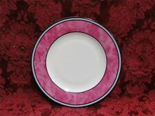 Philippe Deshoulieres Cordoba Fuschia, Marble with Gray Band: Bread Plate (s) 7""