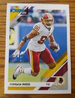 Jordan Reed  2019 Donruss Washington Redskins Card #191  *524*