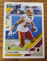 Jordan Reed  2019 Donruss Washington Redskins Card #191  *524*