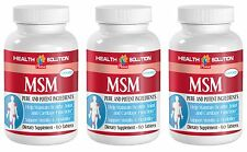 Increases Overall Antioxidant Defense Tablets - MSM 1000mg - MSM Pill 3B