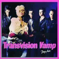 TRANSVISION VAMP - POP ART (RE-PRESENTS) 2 CD 32 TRACKS ROCK POP NEU