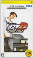 Used PSP Initial D Street Stage SONY PLAYSTATION JAPAN IMPORT
