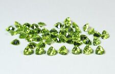 Good Quality 6mm Trillion PERIDOT Gemstones NATURAL