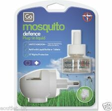 2 X Go Travel Mosqui-go Duo Europe Morocco Turkey Plug in - Mosquito Repellent