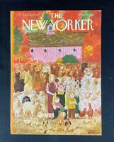COVER ONLY ~ The New Yorker Magazine, October 8, 1979 ~ Charles Addams