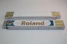 Zollstock mit  NAMEN     ROLAND   Lasergravur 2 Meter Handwerkerqualität