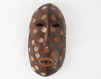African art tribal kumu wooden Mask from DRC of Congo Zaire