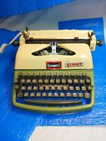Rare Vintage Rheinmetall. Typewriter German 1957. Art Deco TV SHOW PROP? or Use.