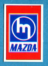 AUTO FLASH - Ed.COX - Figurina/Sticker n. 196 - MAZDA (J) -New