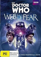 Doctor Who - Web Of Fear (DVD, 2014) VGC Pre-owned (D95)