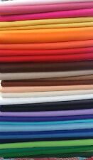 "Self Adhesive Craft Felt Fabric Material - Sold in 9"" Squares Pack- Asst Colours"