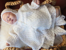 KNITTING PATTERN TO MAKE *ARABESQUE* 5 PIECE SET FOR BABY OR REBORN DOLL