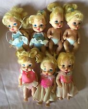 Disney ROYAL NURSERY mini baby princess doll lot princesses babies lot Of 7