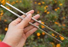 Titanium Camping Cutlery Ourdoor EDC Tablew for Titanium Solid Chopsticks 35g
