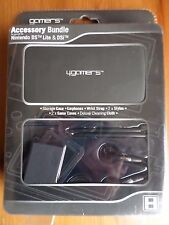 4GAMERS Accessory Bundle for Nintendo DS/DS Lite/DSi - BLACK - New in Packaging