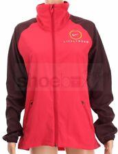 Nike Women's Medium Livestrong Full Ziipper Pink Red Windbreaker Jacket 436020