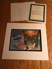 The Pink Panther Original Production Animation Cel+Sketch P30 Captured Yeti