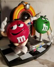 Collectible M&M's Red Green M&M Rock'n Roll Cafe Jukebox Candy Dispenser Mars