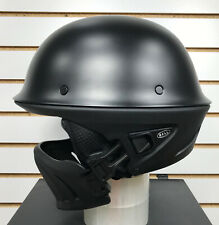 Open Box Bell Rogue 3/4 Motorcycle Helmet Matte Black Size Medium