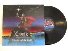 XCALIBER WARRIORS OF THE NIGHT LP RARE 2017 REISSUE PITTSBURGH POWER METAL
