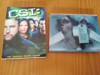 CSI COMPLETE SEASON 4 - 6 DVD - SPECIAL EDITION BOX CASTELLANO ENGLISH REGION 1